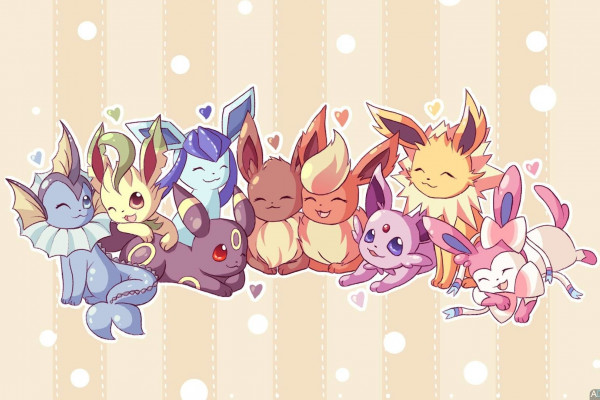 Eevee Evolution Pokemon