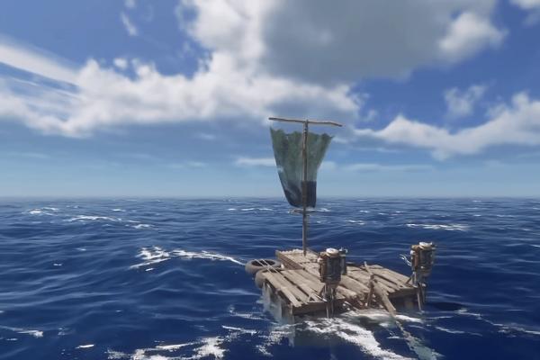Raft in Stranded Deep