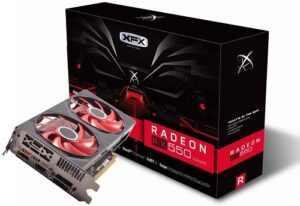 AMD based: XFX RX 550 graphics card