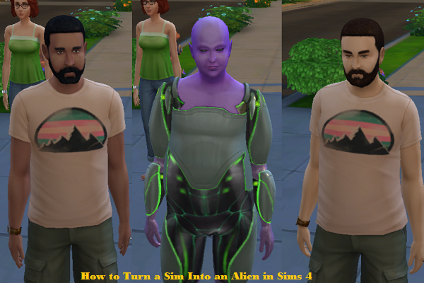 How to Turn a Sim Into an Alien in Sims 4