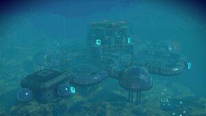 Double-Pod Underwater Base