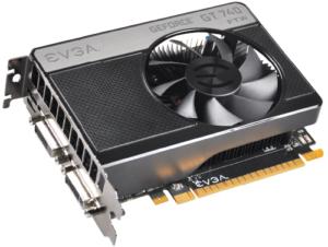 EVGA GeForce GT 740 GDDR5 Super clocked