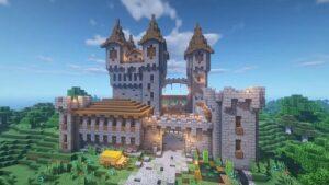Minecraft Mini-Fortress