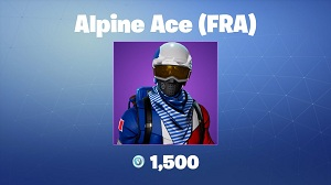 Fortnite Alpine Ace (FRA) Skin