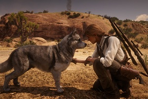 Dog in Red Dead Redemption 2