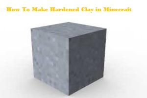 Hardened Clay in Minecraft