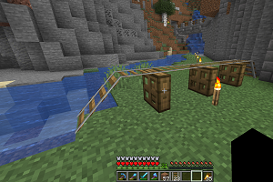 How to Make a Trapdoor in Minecraft
