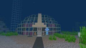 Building An Underwater House in Minecraft