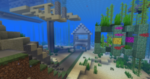 How to Make an Underwater House in Minecraft