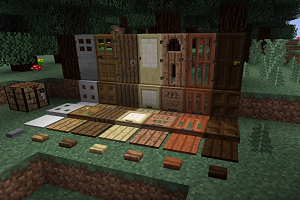 Place Things on Trapdoors in Minecraft